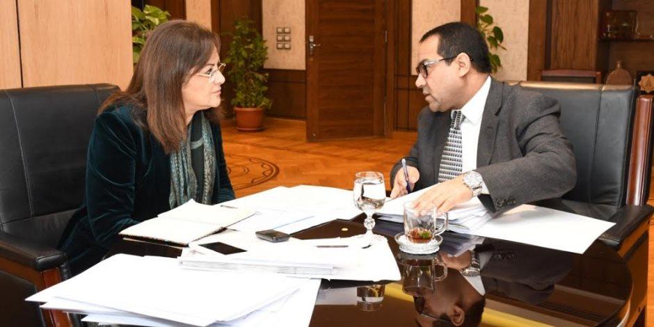 3 ملفات هامة في اجتماع هالة السعيد ورئيس جهاز التنظيم.. وإصلاح إداري جديد منتظر
