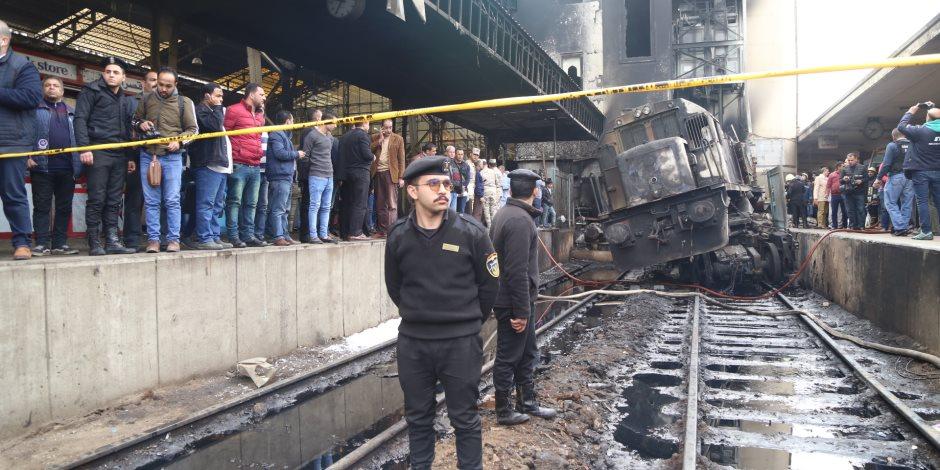 حادث قطار محطة مصر.. الأهالي يتسلمون جثامين ذويهم
