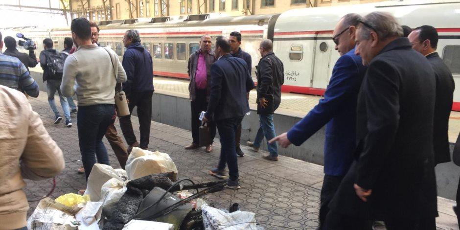 تعرف على مالم يتأثر بانفجار قطار محطة مصر (صور)