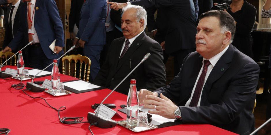 انفراجة في ليبيا على واقع اتفاق أبو ظبي.. وسراج يحدد ملامح المرحلة المقبلة