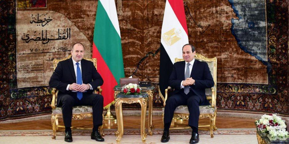 رئيس بلغاريا من «الاتحادية»: ندعم دور السيسى فى إقرار السلام بالشرق الأوسط