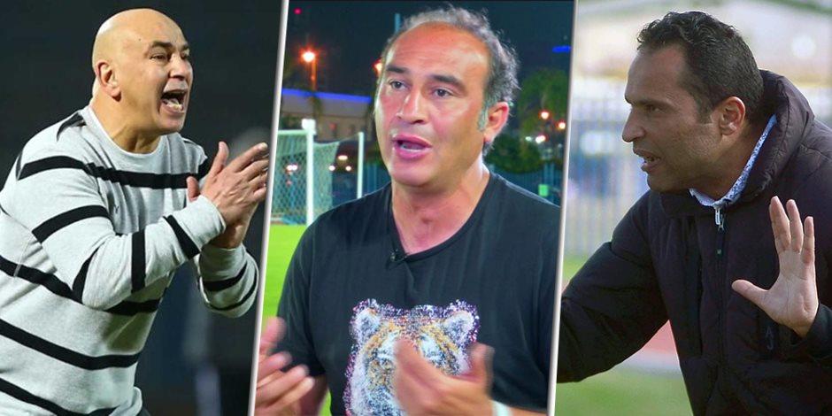 5 مدربين مصريين غدرت بهم الساحرة المستديرة في الدوري