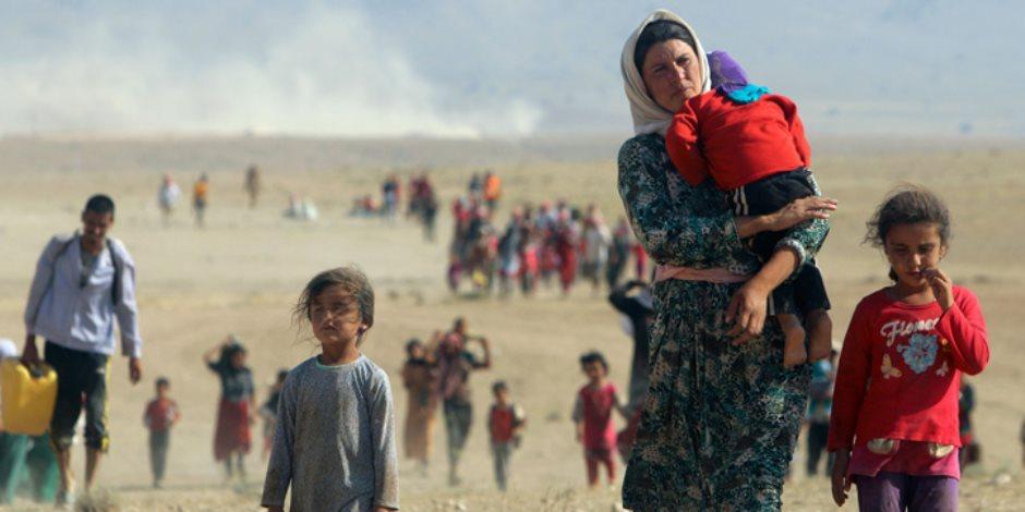 «عودة المختطفين الأيزيديين».. فصل مؤلم في مسرحية «داعش الإرهابي»