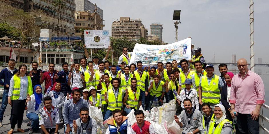 مؤسسة شباب بتحب مصر تحصل علي رعاية المركز الإعلامي للأمم المتحدة بالقاهرة