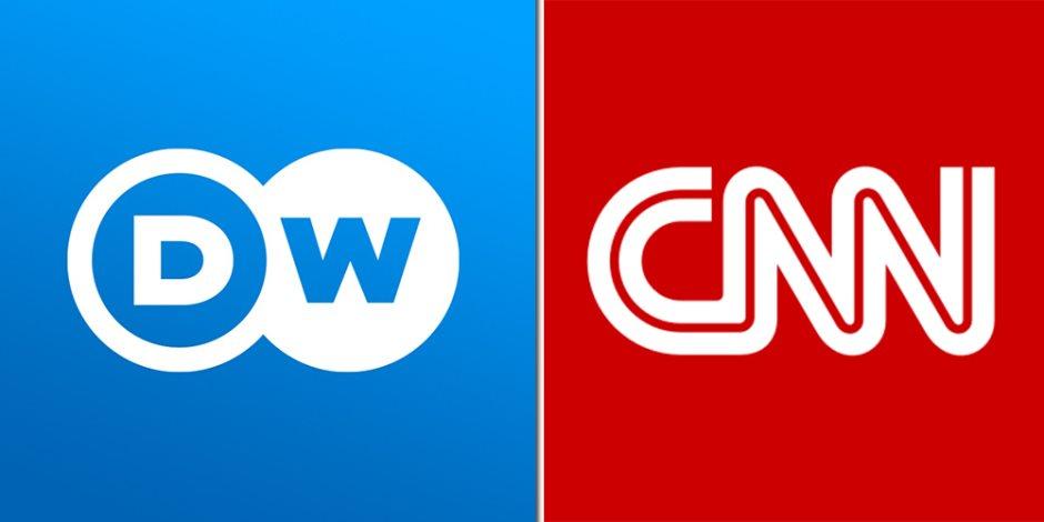 «الإخوان» تضع مصداقية الإعلام الغربي على المحك.. دويتشه فيله وCNN «طير أنت»