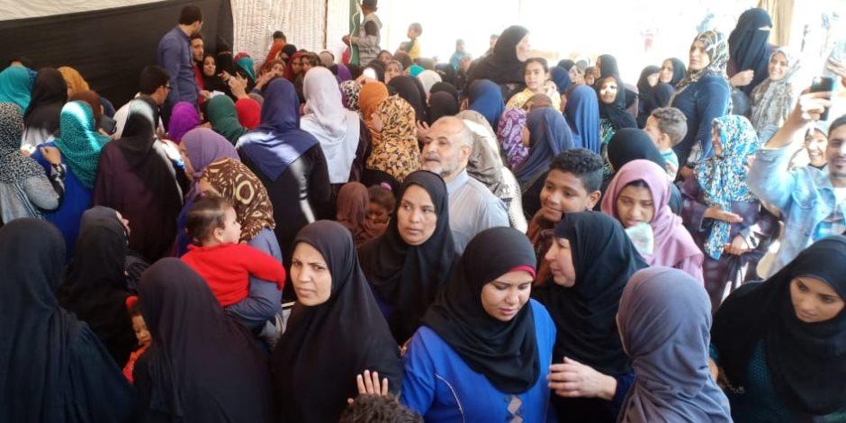 «نورتي يا ست الكل».. المرأة المصرية ضربت أروع الأمثال في الوطنية عبر بوابة الاستفتاء
