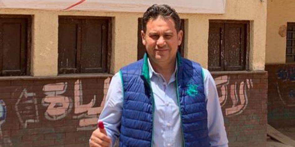 خالد جلال: شاركت من أجل أمن واستقرار مصر العظيمة