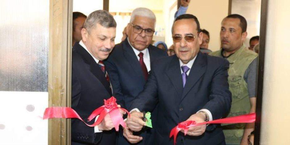 «شوشة» يفتتح المكتب الإقليمي لرعاية أسر الشهداء والمصابين بشمال سيناء (صور)