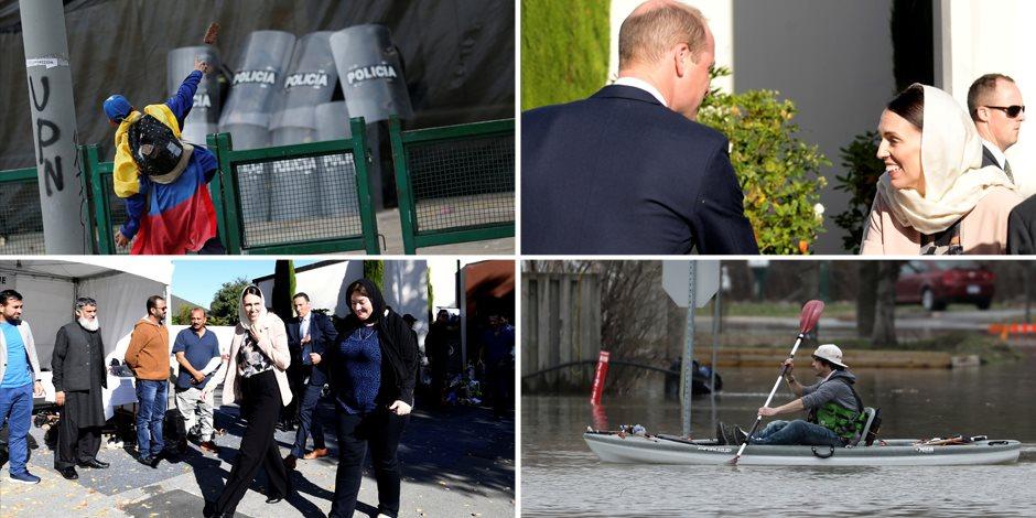 جولة في صحف العالم.. الأمير وليام يزور مسجد النور بنيوزيلندا (صور)