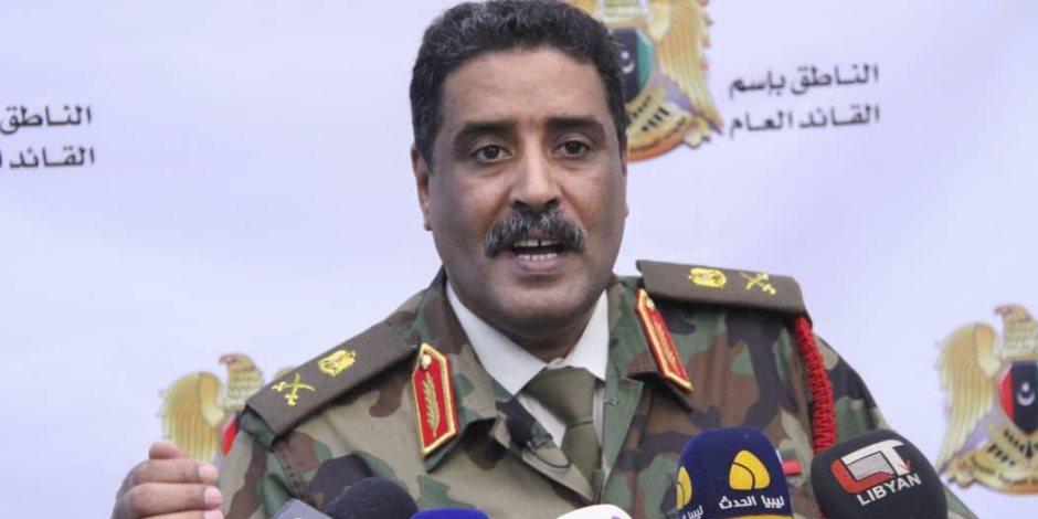 الجيش الليبي يطالب مجلس الأمن بالتدخل لحمايتهم من التهديد التركي لمصالح ليبيا وحوض المتوسط