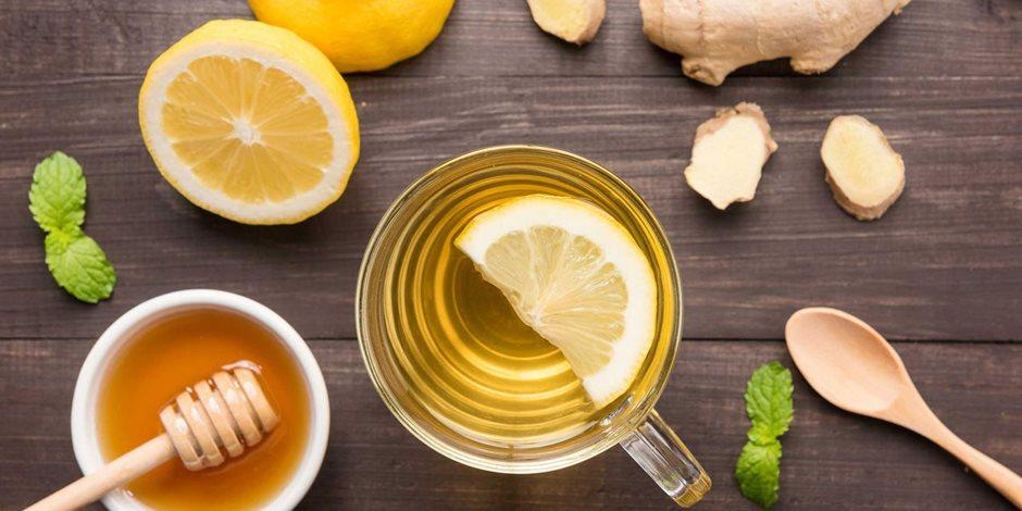 صحتك فى وصفة.. شاى الليمون والزنجبيل لتخفيف أعراض الأنفلونزا