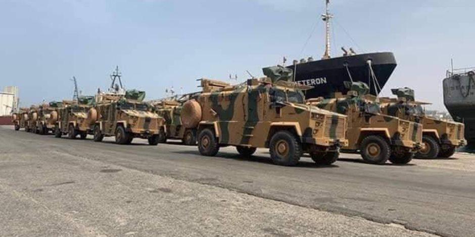 الجيش الليبي يوجه رسالة لتركيا: الحظر الكامل في وجه داعمي الإرهاب