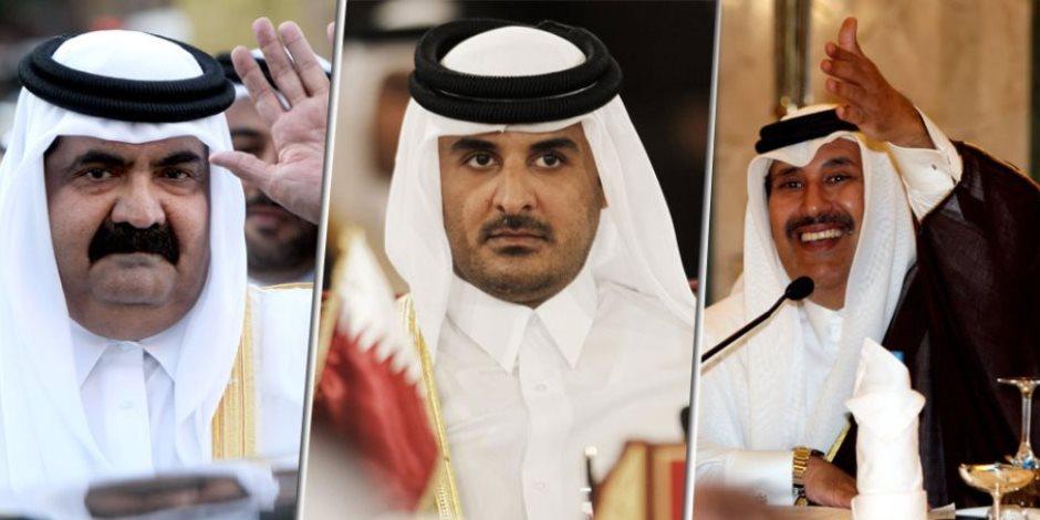 بعد عامين على فضيحة تصريحات «تميم».. تنظيم الحمدين يواصل أكاذيبه