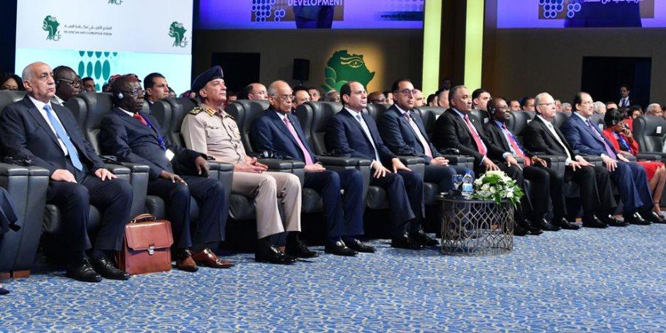 الرئيس السيسي: الفساد أحد أبرز العقبات الحقيقية لتحقيق التنمية المستدامة