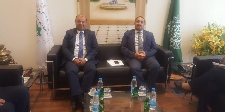 اتحاد الغرف العربية يجمتع مع اليونيدوا لتوفير آليات تمويل شباب المستثمرين بالوطن العربي