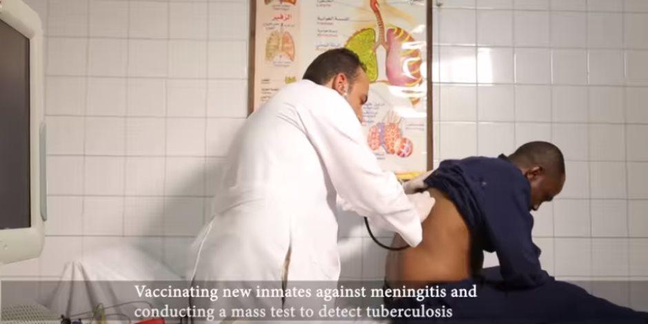 هيومان رايتس «كدابة».. هكذا تتم رعاية نزلاء السجون داخل أكبر المستشفيات (فيديو)