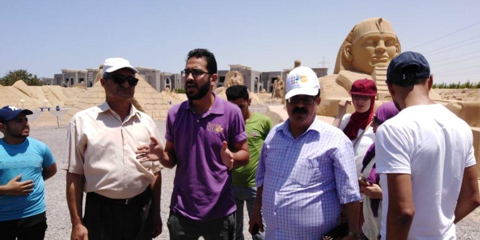 «سياحة شمال سيناء» تنظم رحلة لـ 30 سيناويا لتنشيط السياحة بالبحر الأحمر (صور)