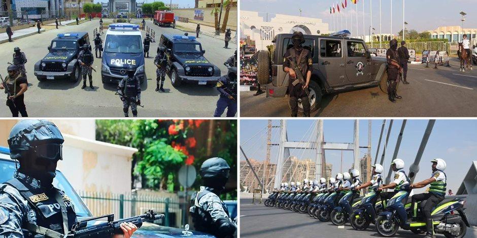خطة الداخلية لتأمين حفل افتتاح بطولة كأس الأمم الأفريقية اليوم (صور)