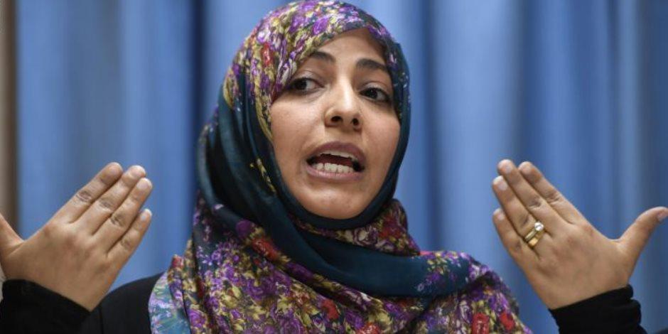 توكل كرمان تريد زيارة بنغازي الليبية.. لماذا بعد إعلان المبادرة المصرية لحل الأزمة الليبية؟