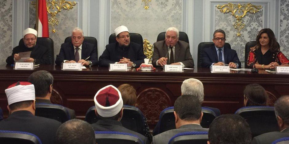 قيادات الأوقاف تشكر الرئيس السيسي لرعاية مسابقة القرآن الكريم