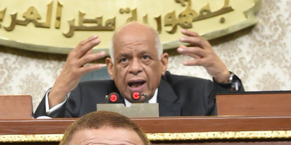 رئيس مجلس النواب: السيسي اختار التحدي والوضع الاقتصادي لمصر يتعافى