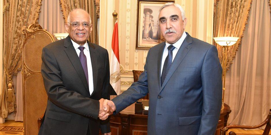 رئيس البرلمان لسفير العراق الجديد بمصر: نقف بجانبكم ونساندكم لاستعادة دوركم عربيًا ودوليًا