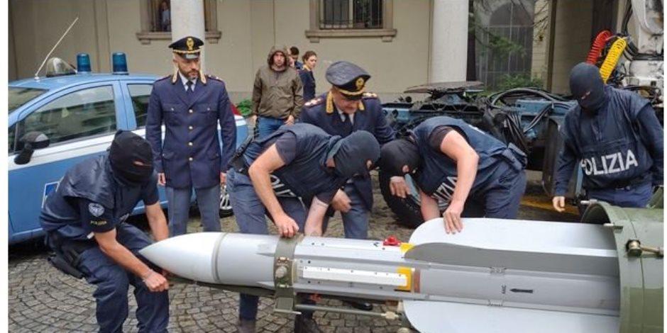 من الدوحة إلى روما لمصراتة.. مسار الصاروخ القطري المضبوط في إيطاليا