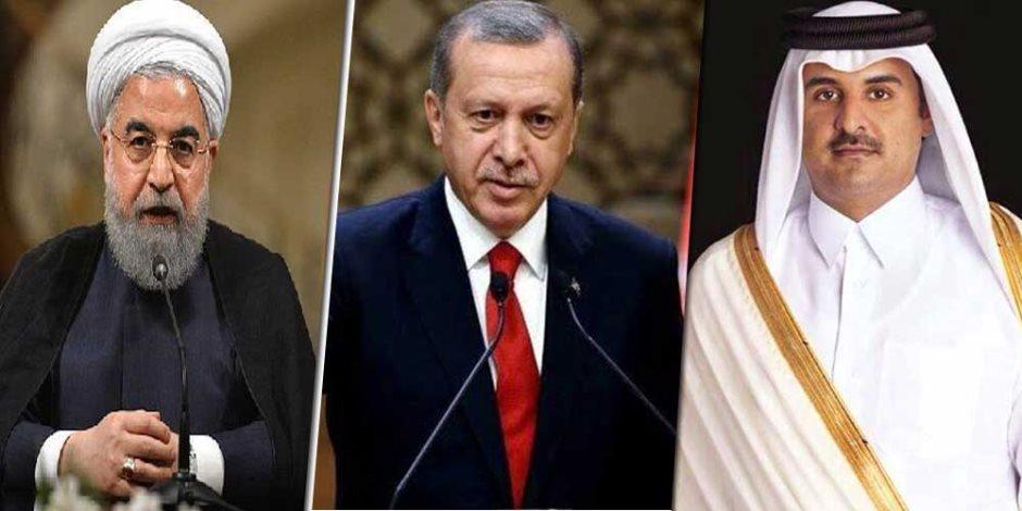 أزمة ثلاثي الشر «إيران وتركيا وقطر».. خريطة مسارات تهريب السلاح للميليشيات