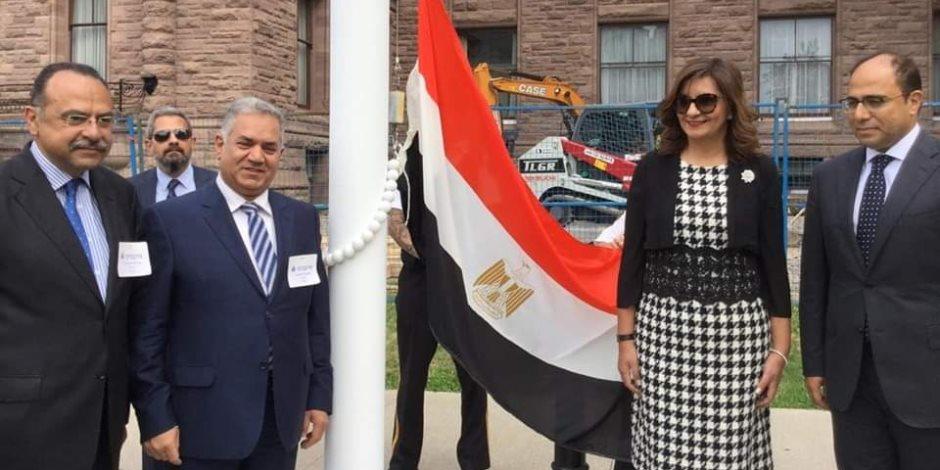 للمرة الأولى علم مصر يُرفع في برلمان أونتاريو الكندي