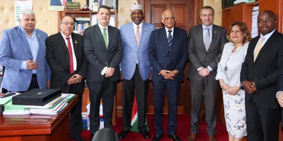 «عبدالعال» لـ«زعيم أغلبية» البرلمان الكيني: السيسي حرص على تفعيل مادة انتماء مصر لإفريقيا