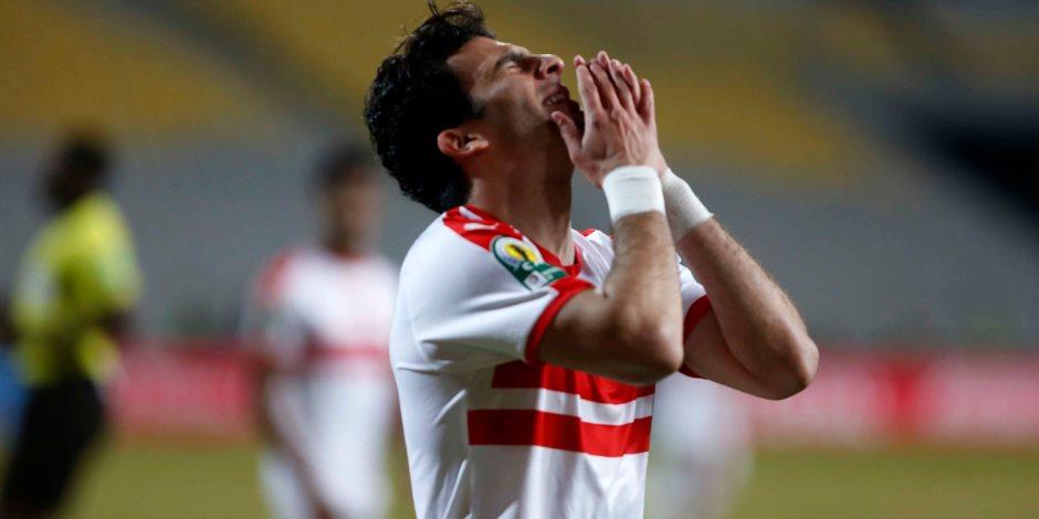 أحمد زيزو يحرز الهدف الثاني للزمالك أمام الإسماعيلى