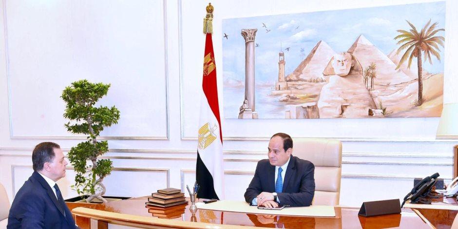 بسام راضى: الرئيس السيسى يلتقى وزير الداخلية
