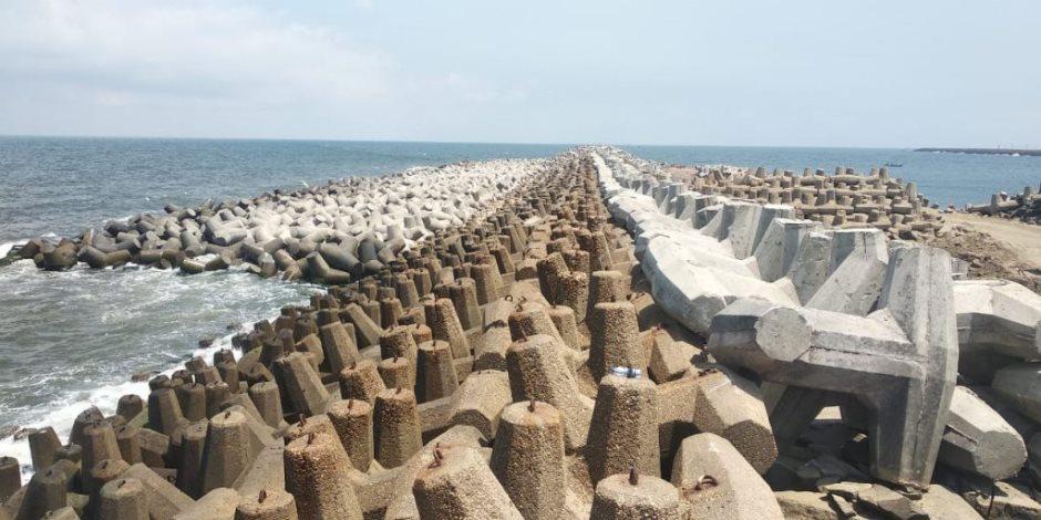 قيمتها 1.7 مليار جنيه.. 26 مشروعاً لحماية الشواطىء الشمالية