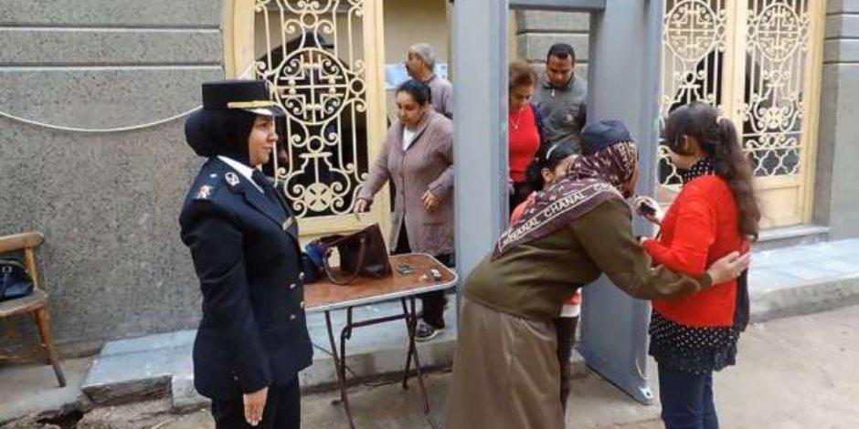 أول أيام عيد الأضحى المبارك.. «الشرطة النسائية» بطلات في كل مكان للحفاظ على بنات مصر