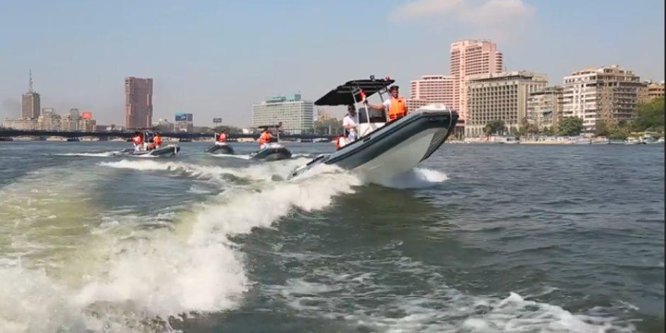 «سلامتك تهمنا».. شرطة المسطحات تواصل حملاتها على المراكب النيلية المخالفة (فيديو)