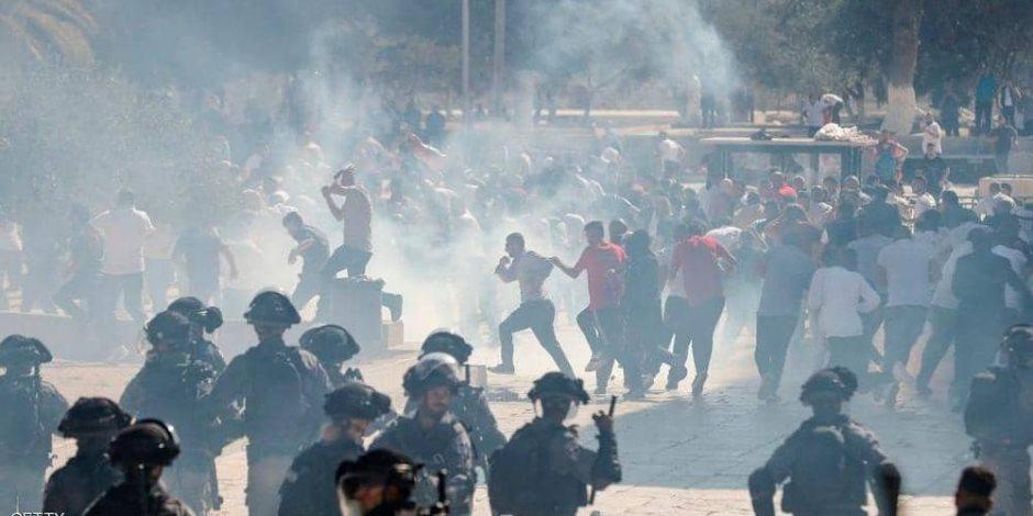 في عيد الأضحى.. القوات الإسرائيلية تقتحم الأقصى