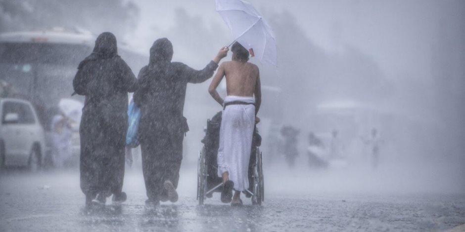 الأرصاد السعودية: توقعات بهطول أمطار رعدية فى مكة المكرمة