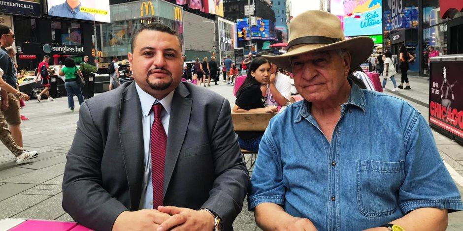 زاهي حواس للنبض الأمريكي من قلب نيويورك: مصر أمنة وأهلا بالسائحين فى مصر