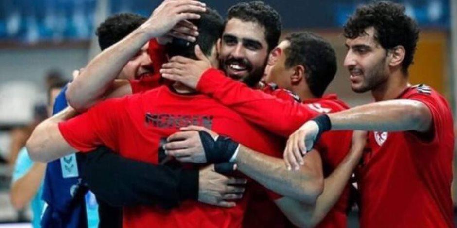 منتخب ناشئى كرة اليد يلتقى غداً أيسلندا فى ربع نهائى كأس العالم