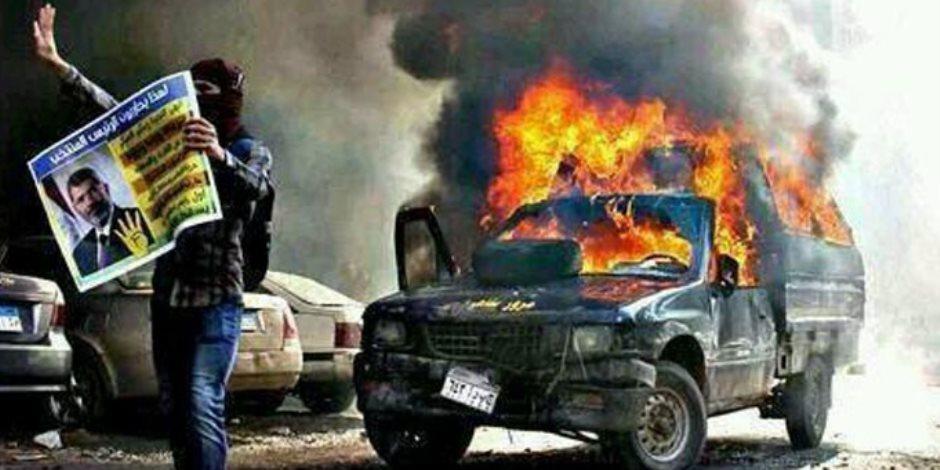 في ذكرى فض إرهاب رابعة والنهضة.. 14 أغسطس شاهد على جرائم الإخوان