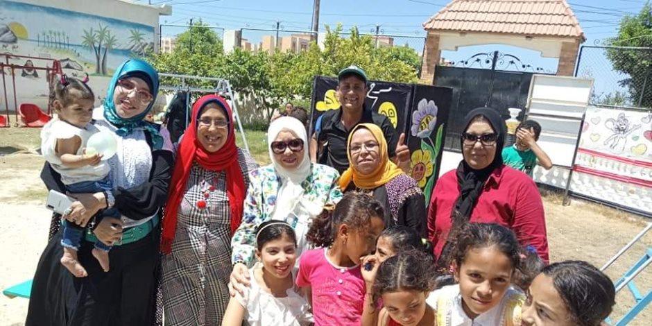 «عيدنا مختلف».. مبادرة لإسعاد الأطفال الأيتام في العيد بدار الرعاية المتكاملة بالعريش (صور)