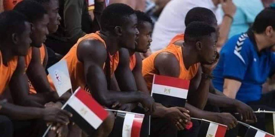 منتخب نيجيريا يشجع مصر فى نهائى كأس العالم لناشئى اليد