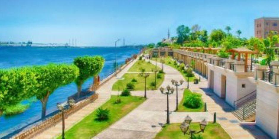 س & ج تفاصيل تطوير المرحلة الثالثة من كورنيش النيل بمحافظة الأقصر