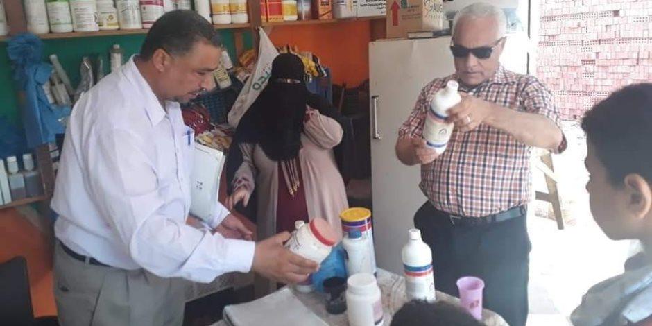 هيكلة السوق القديم و متابعة الأسعار والأشغال بمدينة بئر العبد بسيناء (صور)