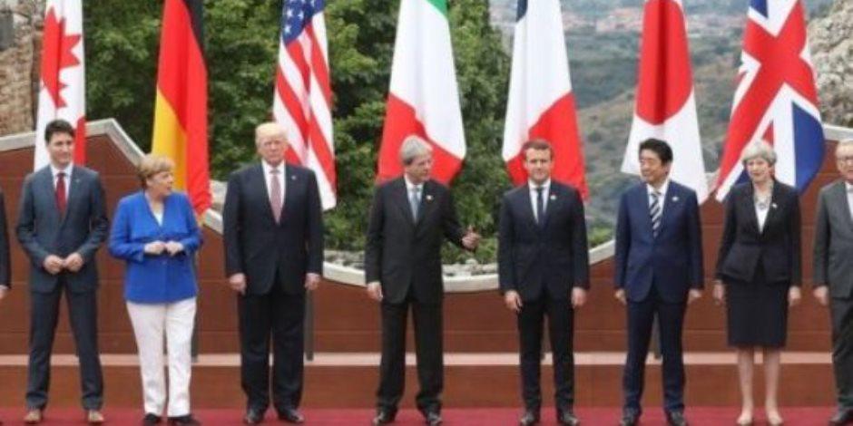 توافد زعماء وقادة الدول المشاركة بقمة الدول السبع فى فرنسا