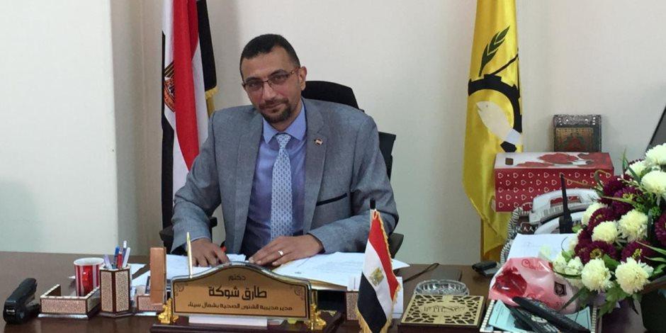 صحة شمال سيناء تعلن جاهزيتها للمبادرة الرئاسية للمسح السمعي للأطفال أول سبتمبر