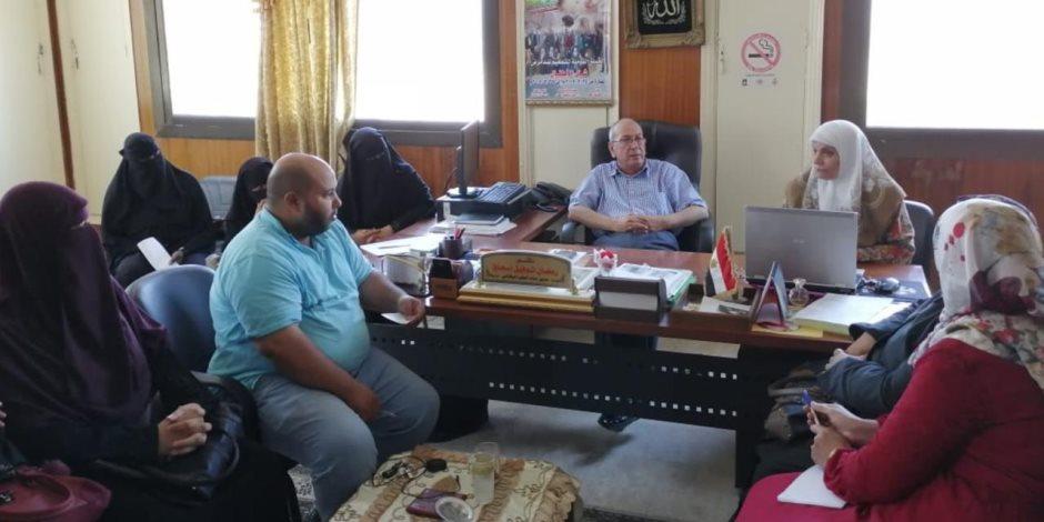 صحة شمال سيناء تبدأ محاضرات تثقيفية حول المسح السمعي للأطفال حديثي الولادة (صور)