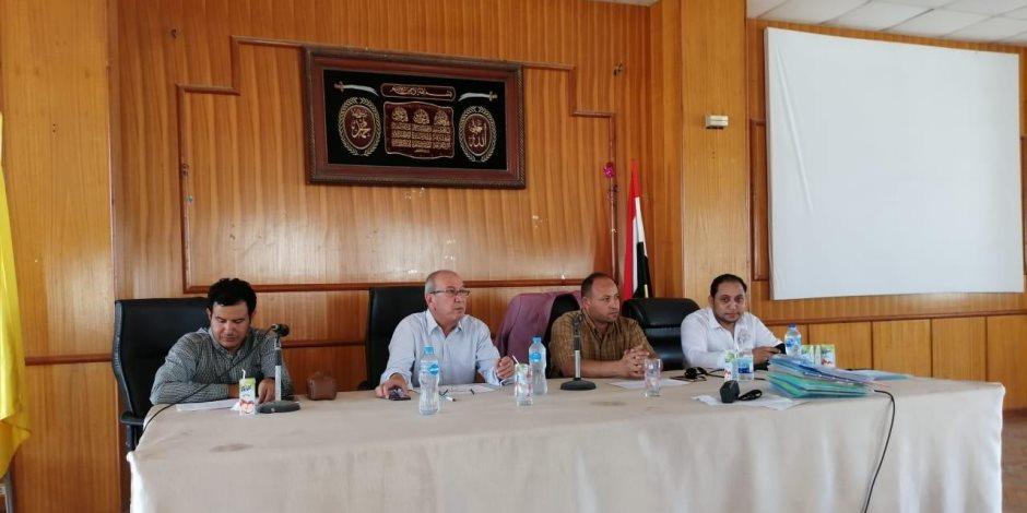 بدء اختبارات قبول أبناء الشهداء في مدارس التمريض بشمال سيناء (صور)