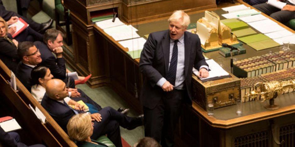 كيف هزم مجلس العموم البريطاني «بوريس جونسون» خلال جلسة ساخنة؟ (صور)