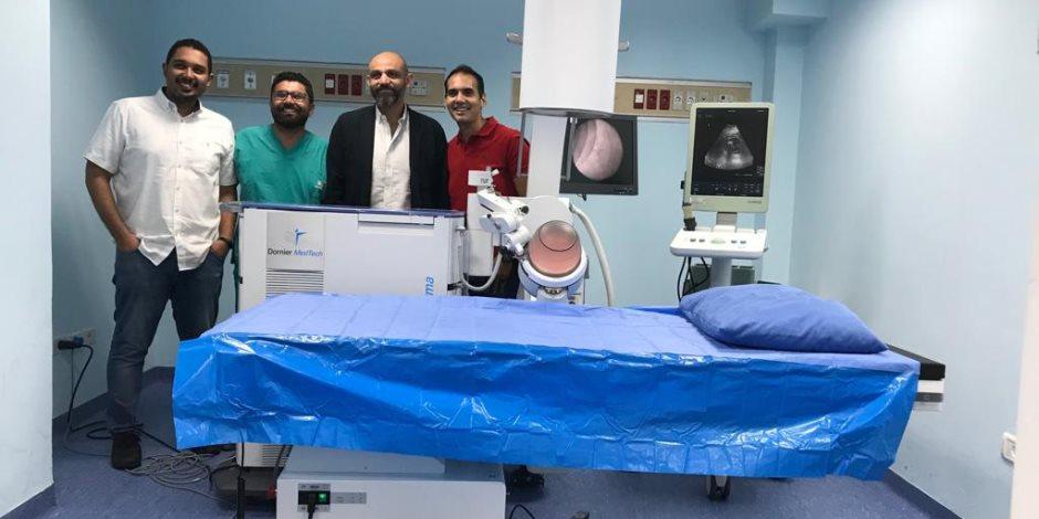 لعلاج غير القادرين.. جهاز متطور لتفتيت حصوات الكلى مجانا بمستشفى سعاد كفافي (صور)